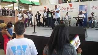 Latunde Silver Live at FestAfrica Concert 8/11/13