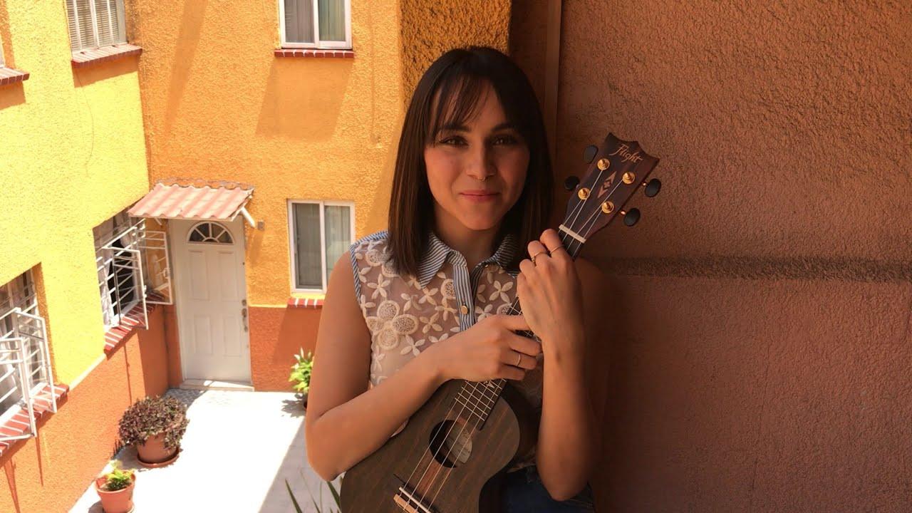 Mi vestido azul floricienta ukulele