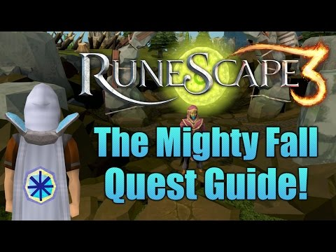 Runescape 3: The Mighty Fall Quest Guide 2016!