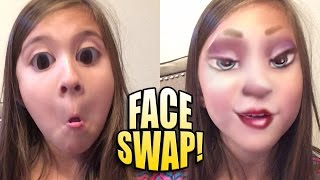 One of JillianTubeHD's most viewed videos: FACE SWAP LIVE with Jillian!!! Funny App on JillianTubeHD!