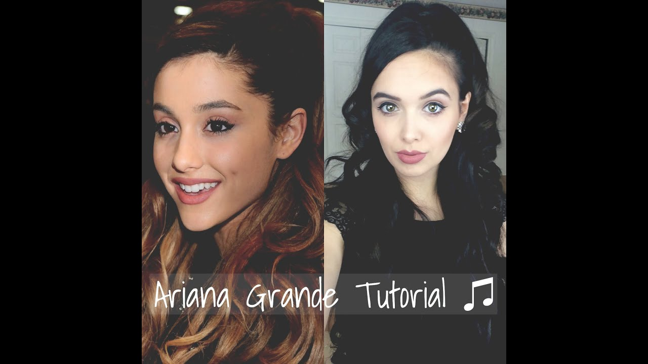 ariana grande hair & makeup tutorial