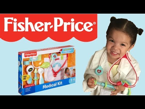 Fisher Price Medical Kit Unboxing And Toy Review / Medical Kit From Fisher Price
