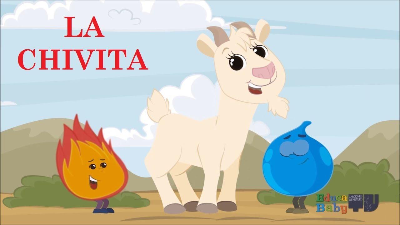Chivo Dibujo Animado: Sal De Ahi Chivita Chivita, Estimulación Temprana