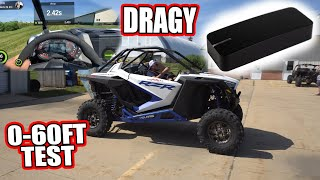 Dragy Test Can-Am X3 Turbo rr VS. RZR XP Pro!  Which has a faster 60ft?!