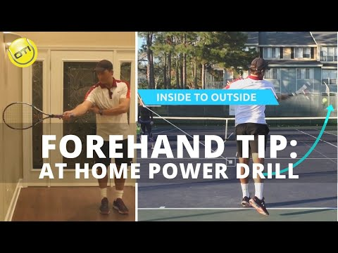 More Forehand Power With This At Home Drill
