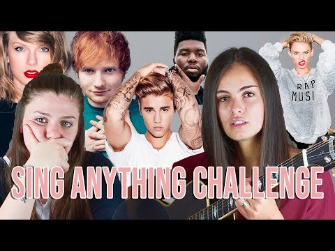 Sing Anything Challenge | Opposite
