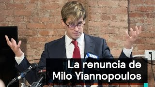 ¿Por qué renunció Milo Yiannopoulos a Breitbart News? - Despierta con Loret