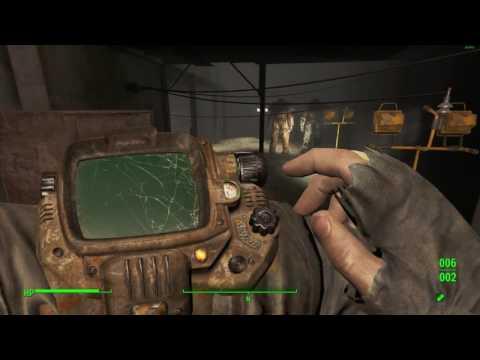 Fallout 4 - New Vegas weapons showcase