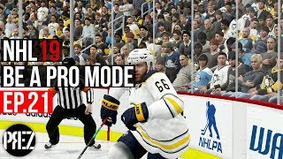 NHL 19 Be A Pro Mode - GOAL AFER GOAL AFER GOAL! Ep.21 (Xbox One X)