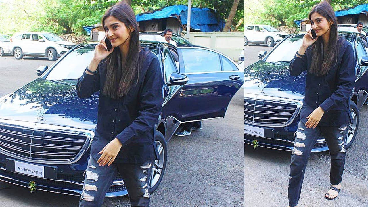 Sonam Kapoor New Car Collection