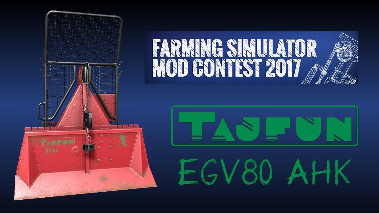 Tajfun EGV 80 AHK   ModHub   Farming Simulator