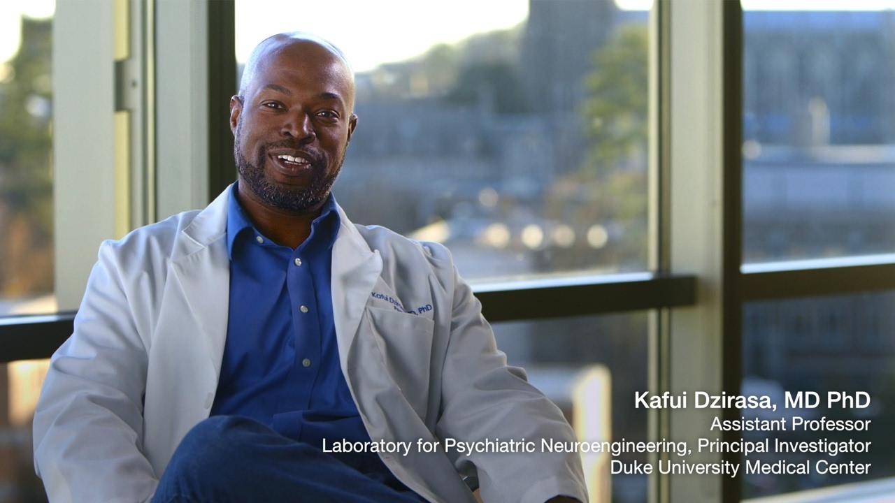 Dr  Kafui Dzirasa: A Black Man in a White Coat