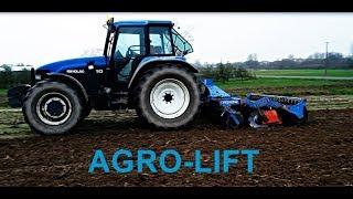Agregat Talerzowy AGRO-LIFT 3m+wał dyskowy