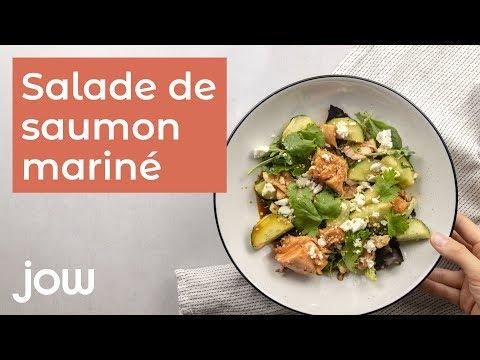 recette-de-la-salade-de-saumon-mariné