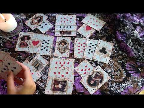 Гадание на ♥ Короля. Цыганский расклад на 36 карт от Никки Ами. Nykky Ami