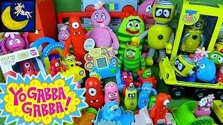 LOTS of Yo Gabba Gabba Toys KidRobot, Funko Pop, Spin Master, Muno Plex Foofa Toodee & Brobee Toys!