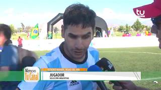 Copa América de Fútbol NO VIDENTE, Colina.