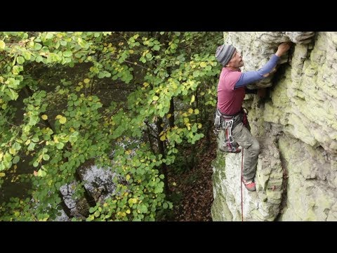 Some sandstone climbs in the Frome Valley at Bristol