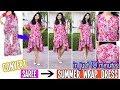 Convert Old Saree Into Wrap Dress In 10 Minutes | Wrap Dress Tutorial