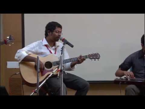 Elements of acoustic funk and Indian folk music: Sean Rolden & Friends at TEDXYouth@Chennai