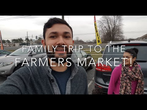 Vlog: Family Trip to the Farmers Market!