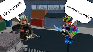 SIMON SAYS GOES WRONG!!! /MURDER MYSTERY Z/ROBLOX ft Drtacopie, thetrueknight boy, and others