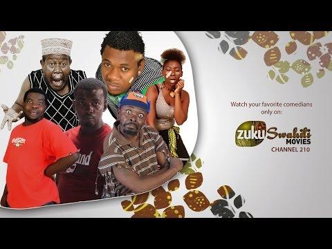 Mabingwa wa vichekesho kwenye Zuku Swahili Movies