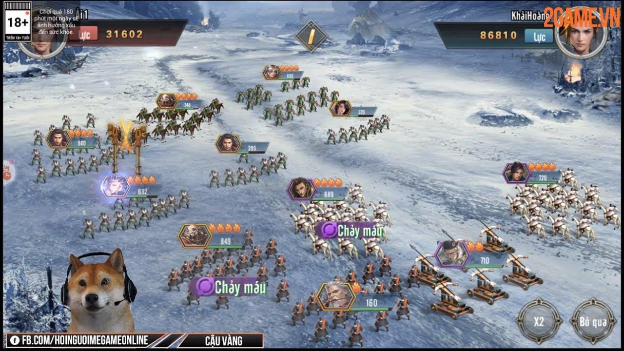 [Độc quyền] Trải nghiệm sớm Tam Quốc Vương Giả: Hội tụ tinh hoa của dòng game SLG thời gian thực