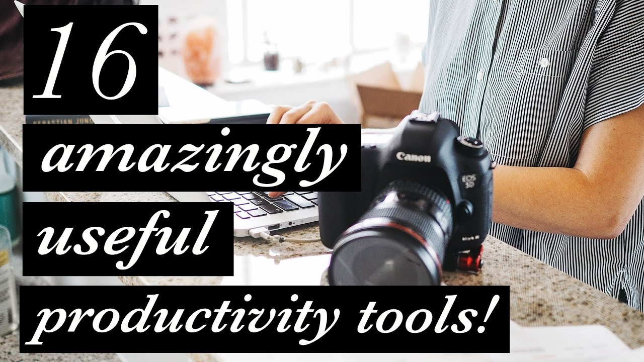 16 AMAZINGLY USEFUL productivity tools for photographers