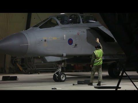 EEUU, Reino Unido y Francia bombardean Siria