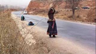 Tibetan Buddhist Prostration