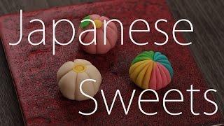 #04 和菓子 - 練り切り3種の作り方 Japanese sweets