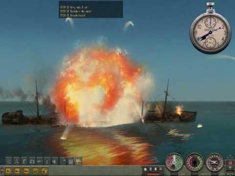 Submarine patrol, Silenthunter subsim story.