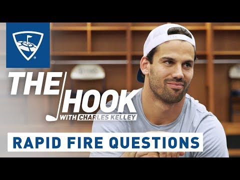 The Hook with Charles Kelley | Rapid Fire Questions - Eric Decker | Topgolf