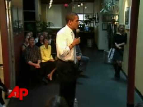 Obama: Clinton Would Be on Anyone