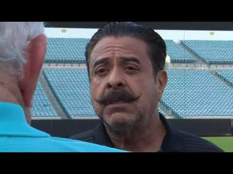 Jags owner Shad Khan talks NFL draft, bid to buy Wembley Stadium