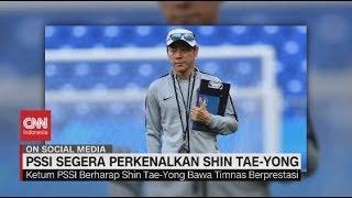 PSSI Segera Perkenalkan Shin Tae-Yong