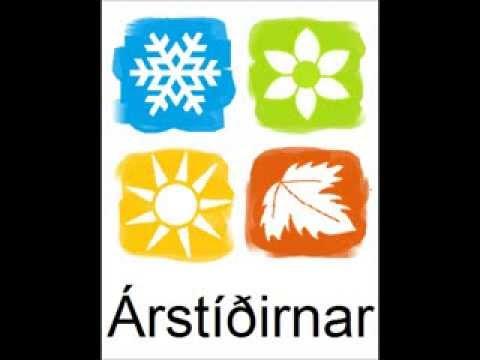 Icelandic Lesson #33: The Seasons - Pronunciation