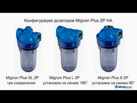 Системы предотвращения образования накипи воды с кристаллами полифосфата ATLAS FILTRI