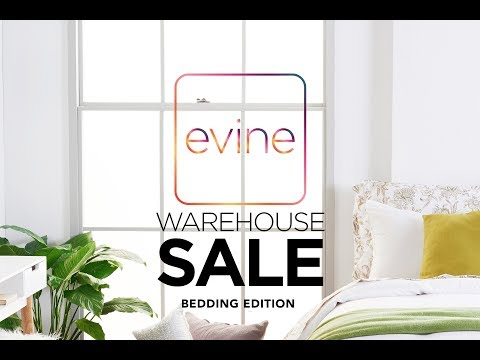 Warehouse Wednesday - All About Bedding! | Evine