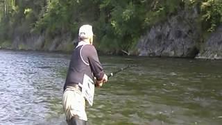 Рыбалка на реке Анюй