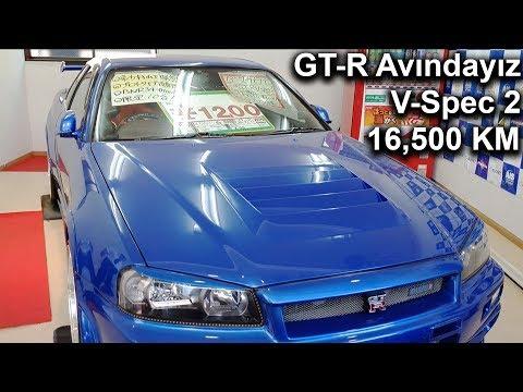 Skyline GT-R R34 V Spec 2 Avındayız! 16,500KM   Japonic Trade