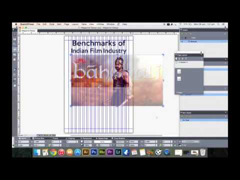 How To Design A Newspaper in QuarkXPress   TYBMM Journalism   Part 4   YouTube 360p