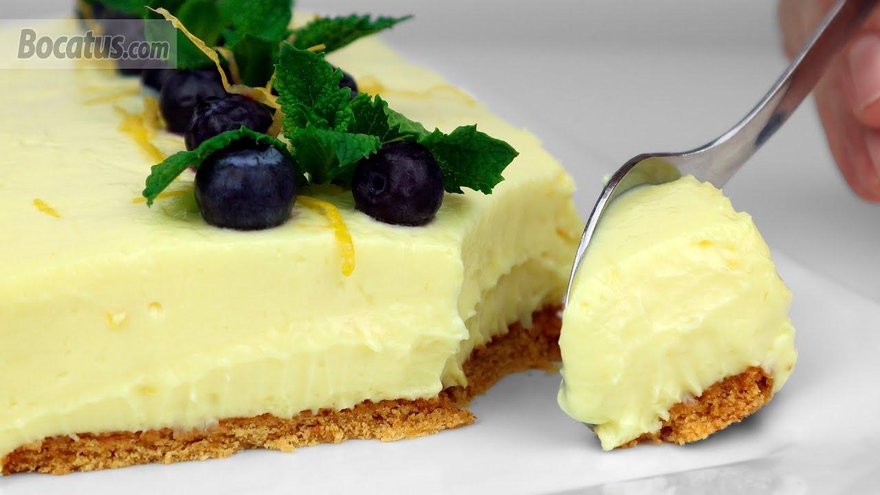 Tarta de Queso y Limón (sin horno)