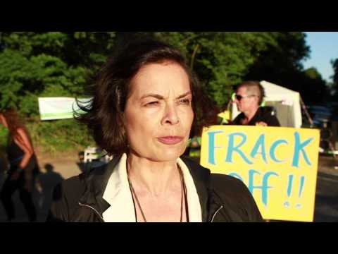 BIANCA JAGGER SUPPORTS FRACK FREE SUSSEX