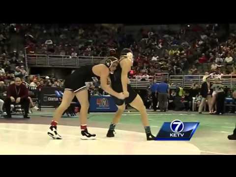 NSAA state wrestling highlights