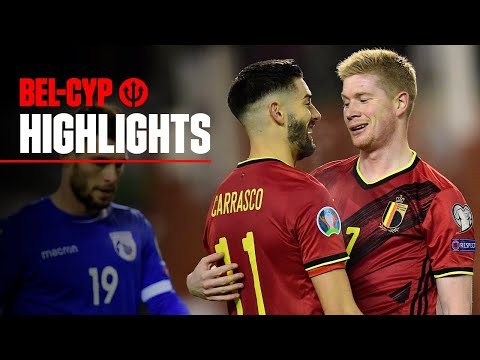 #EURO2020 | Highlights | Belgium Vs Cyprus 6-1
