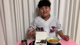 김가네 김밥 참치마요김밥 & 라면 먹방 !!!