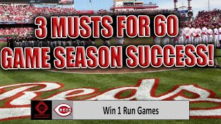 3 Things The Cincinnati Reds Must Do To Make Playoffs In 60 Game 2020 Mlb Season!