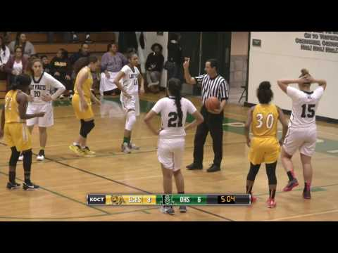 High School Basketball - ECHS vs OHS Girls Varsity